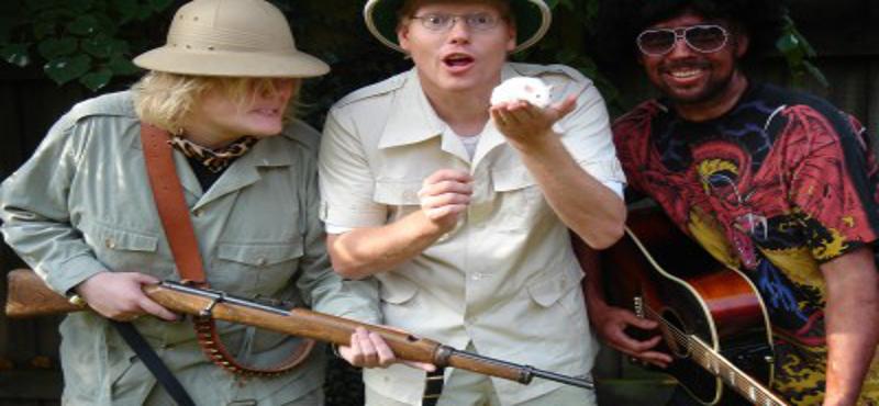 Sebastians skøre Safarishow
